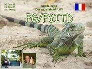 TO6D FG/F6ITD Guadeloupe Island Basse Terre Island La Desirate Island
