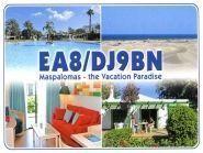 EA8/DJ9BN Maspalomas Gran Canaria Island