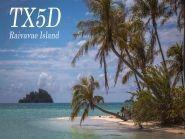 TX5Z Raivavae Island