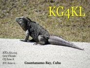 KG4KL KG4WV Guantanamo Bay