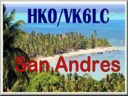 HK0/VK6LC San Andres Island