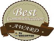 DX Coffee Best Communication Award 2015