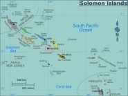 H44NT Russell Islands Florida Islands Bellona Island Solomon Islands
