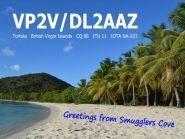 VP2VAZ Tortola Island British Virgin Islands