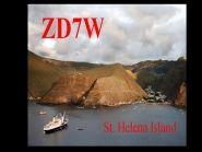 ZD7W Остров Святой Елены