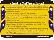 Algerian Lighthouse Award