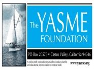YASME Foundation Supporting Grants 2016