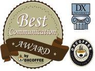 DX Coffee Best Communiction Award 2016