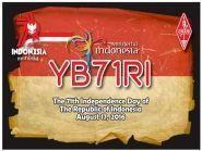 YB71RI Indonesia