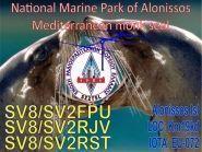 SV2FPU/SV8 SV2RJV/SV8 SV2RST/SV8 Alonnisos Island