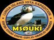 MS0UKI Lunga Island Treshnish Islands