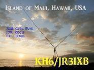 KH6/JR3IXB Maui Island