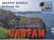 UA0FAM/P Kunashir Island