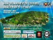 HK1/LU9EFO HK3TU/1 Rosario Islands