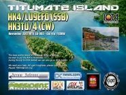 HK4/LU9EFO HK3TU/4 Tutumate Island