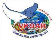 VK9AR Ashmore Reef: Australia's last frontier
