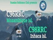 C96RRC C98RRC Остров Мозамбик Остров Инхака