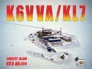 K6VVA/KL7 Остров Эндикотт Аляска