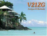 V21ZG Остров Антигуа