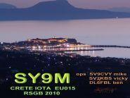 SY9M Crete Island