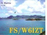 FS/W6IZT Saint Martin Island