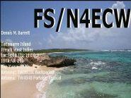 Остров Сен Мартен FS/N4ECW