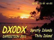 DX0DX Thitu Pagasa Island Spratly Islands