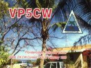 Острова Теркс и Кайкос VQ51V VP5-W5CW