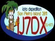 Остров Сан Пьетро IJ7DX