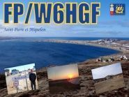 Miquelon Island FP/W6HGF 2012