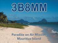 Mauritius Island 3B8MM 2012