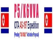 """P5/K6VVA """"CW ONLY"""" IOTA AS-197 PROJECT"""