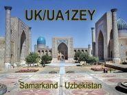 UK/UA1ZEY Самарканд 2012