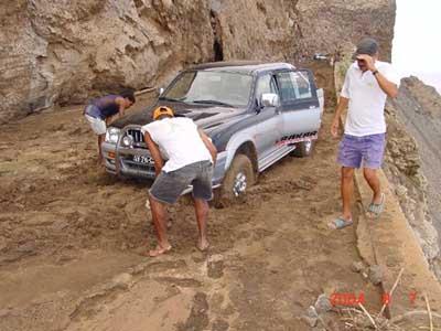 Road to Monte Verde Cabo Verde