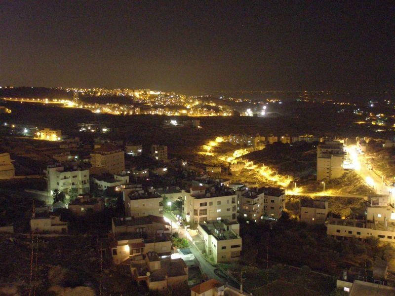 Ночной Вефлеем Палестина
