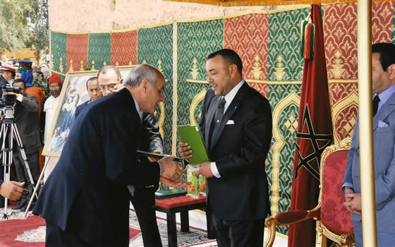 King of Morocco His Majesty Mohammed VI