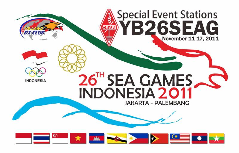 26 South East Asia Games  Jakarta Indonesia YB26SEAG