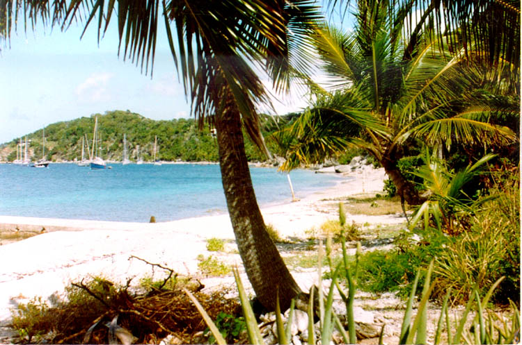 Cooper Island British Virgin Islands VP2V/GM0LVI