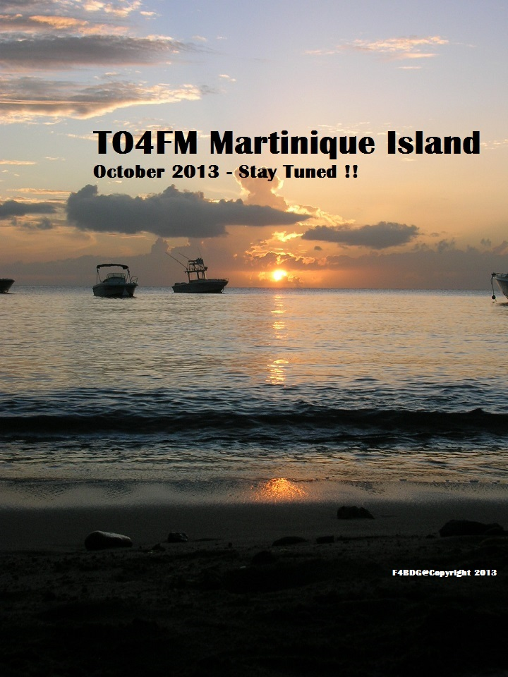 Martinique Island TO4FM