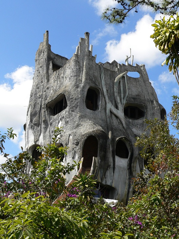 Vietnam Crazy House XV2LC Tourist Attractions