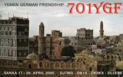 7O1YGF Yemen DX News