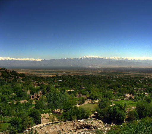 Афганистан T6GS Горы