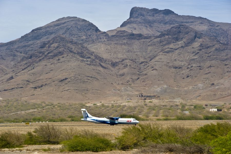 Аэропорт Сан Педро Миндело Кабо Верде Острова Зеленого Мыса TACV D44CF