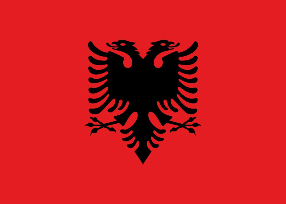 Albania Flag of Albania