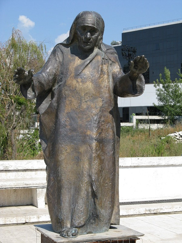 Albania ZA1TC Mother Teresa Monument
