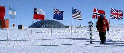 Амундсен Скотт Южный Полюс Антарктида DX Новости