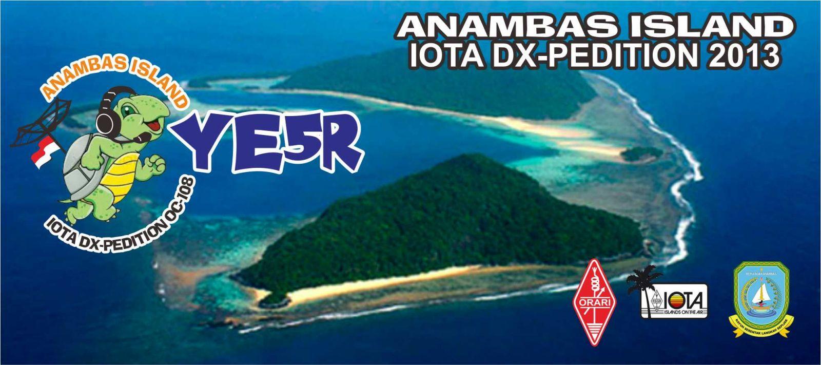 Anambas Island YE5R DX News