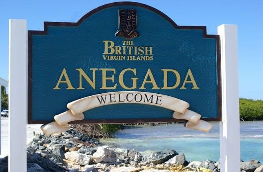 Остров Анегада VP2V/W9DR Британские Виргинские острова