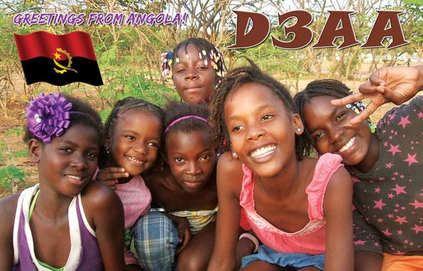Ангола D3AA QSL 4