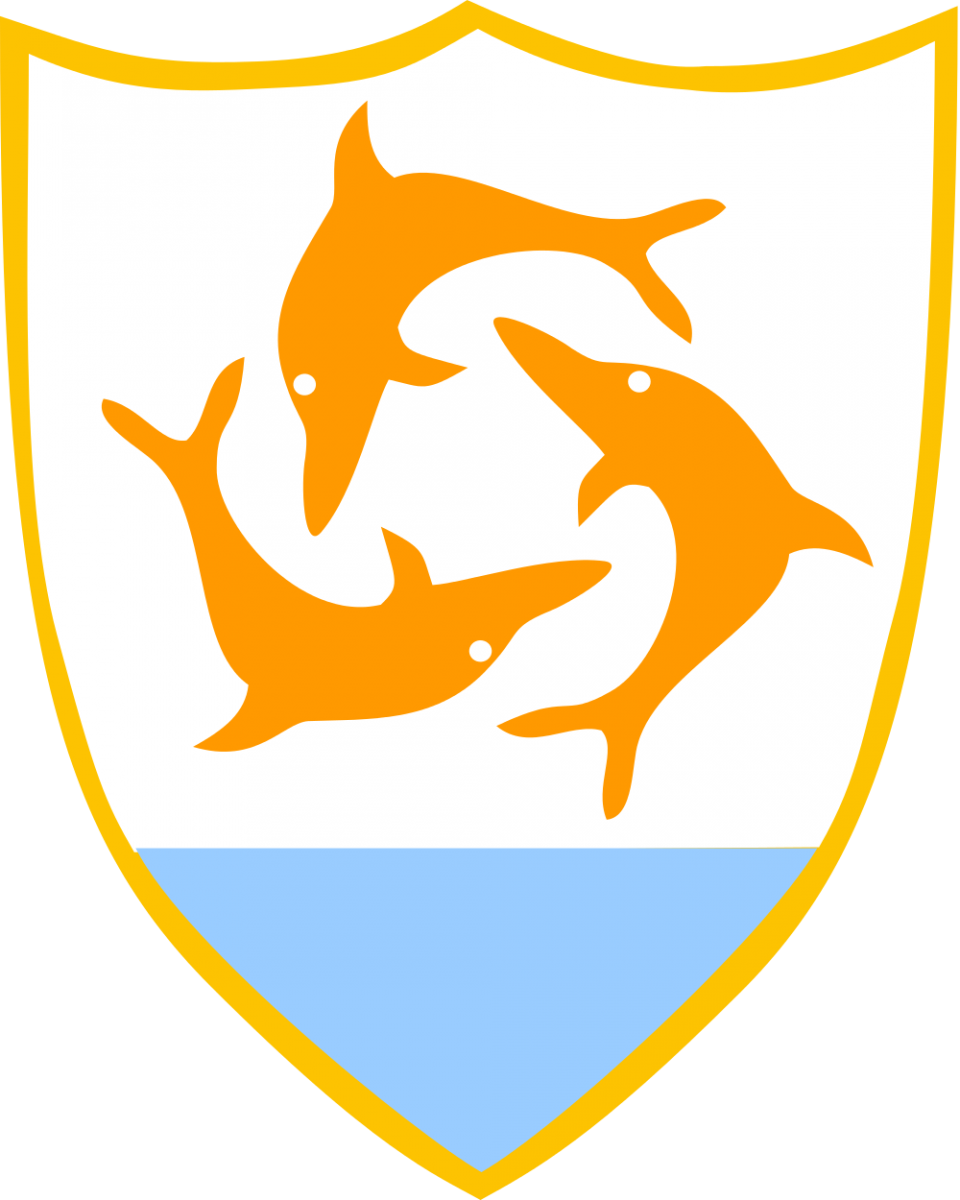 Anguilla Island Coat of Arms of Anguilla